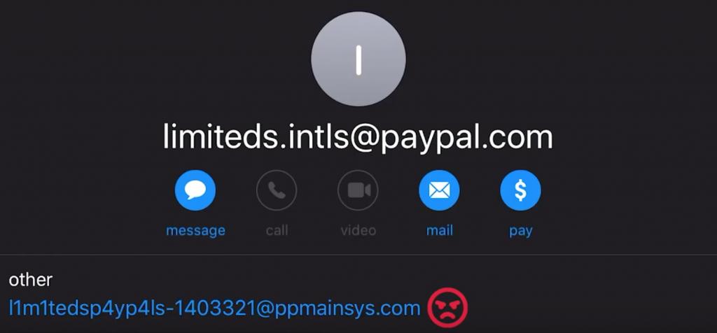 Phishing Scam Email Address