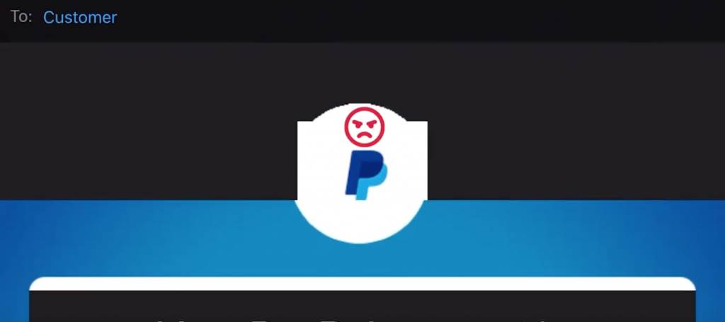 Phishing Scam Pixelated Logo